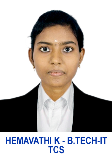 HEMAVATHI K (B.TECH-IT) TCS