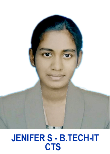 JENIFER S (B.TECH-IT) CTS